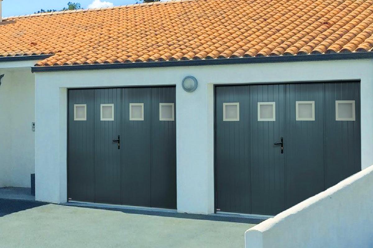 Porte de garage battante Logiréa
